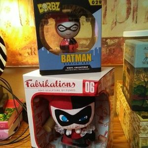 TWO Harley Quinn Figures
